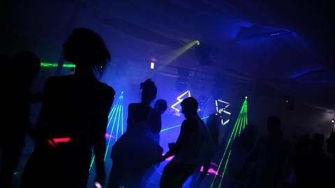 Night Club Footage