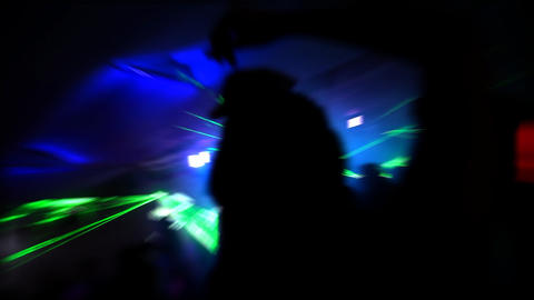 Night Club Stock Video Footage
