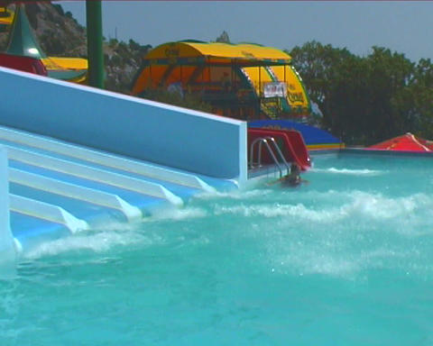 water park Stock Video Footage