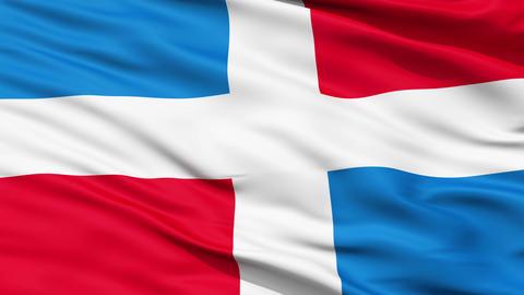 Civil Ensign Of Dominican Republic Animation