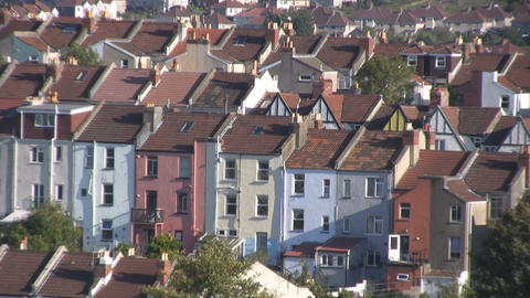 Bristol old town 2 Stock Video Footage