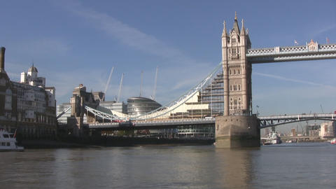 London Towerbridge Stock Video Footage