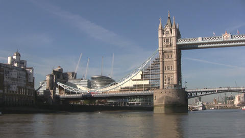 London Towerbridge Stock Video Footage