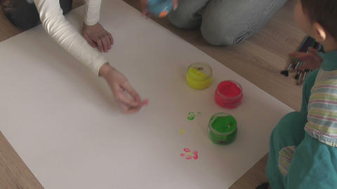 Children Paint Finger 2