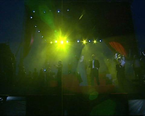 scene concert Stock Video Footage