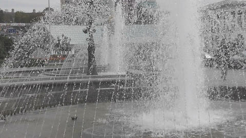 fountain06 Stock Video Footage