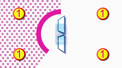 CountDown Clock 10D3 HD Stock Video Footage
