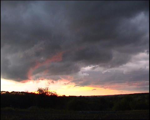 dramatic sky Stock Video Footage