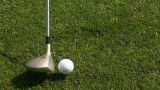 Golf - teeing off Footage