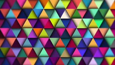 Colorful abstract background animation. 4K Animation