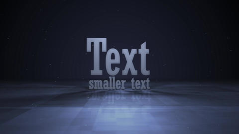 logo animation rotation text