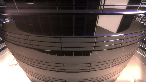 4 K Ultra Modern Data Center 3 D Animation 7 Animation