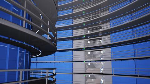4 K Ultra Modern Data Center 3 D Animation 9 Animation