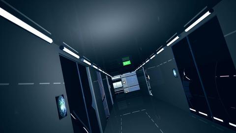 Ultra Modern Building Corridor 3 D Animation 8 Animation