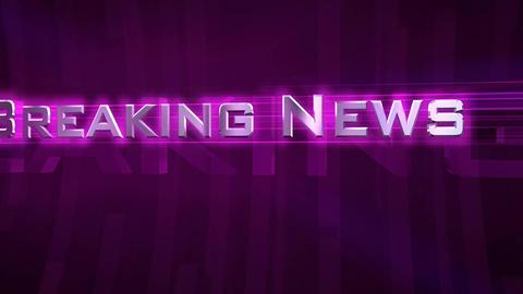 Breaking News - Tube Purple Footage