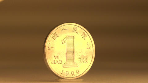 Cent Penny China Yuan Remembi Footage