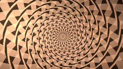 Spiral With Triangle Background stock footage