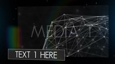 Dubstep Photo Video Text Display Logo Intro stock footage
