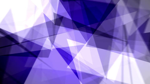 Fast Chaotic Blue Background Loop 3 Animation