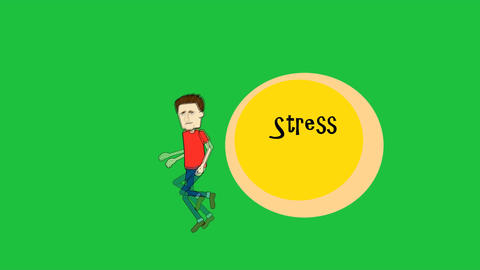 """Running from Stress"", Male Character: Looping + M Animation"