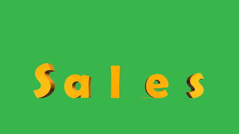 Sales Animation: + Matte Animation