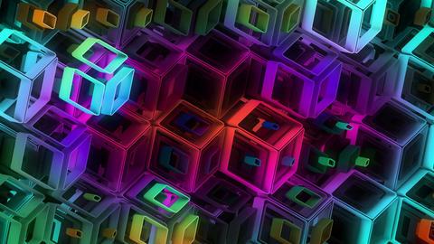 Neon Pattern 005 B Alternate Strength GTC Animation