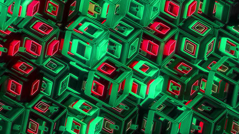 Neon Pattern 005 B Alternate Wave GTC Animation