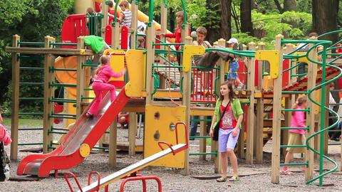 Childrens playground Footage