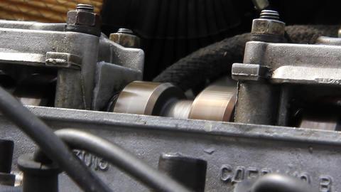 Internal combustion engine. Driving shaft Live Action