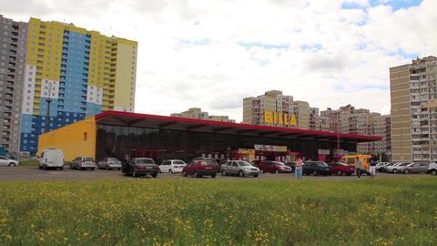 Supermarket Billa Live Action