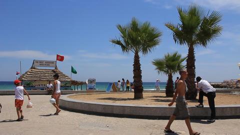 Sousse, Tunisia stock footage