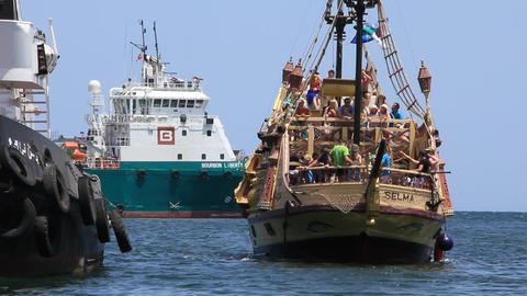 Pleasure boats, Tunisia, Sousse Footage