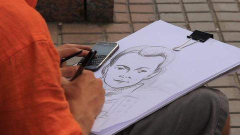 Portrait-painter Live Action