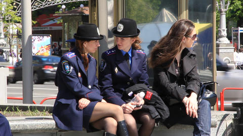 Two policewoman Live Action