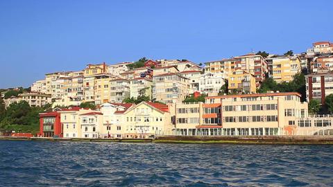 Flats has sea view in Uskudar Seaside resort in Is Footage