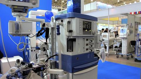 High-tech medical equipment Footage