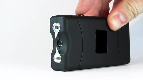 Electroshocker. Electric arc 2 million volt Footage
