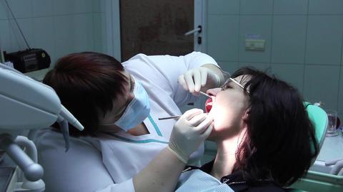 Dental Health Service stock footage