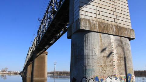 Bridge footing Live Action