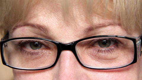 Woman with glasses Live Action