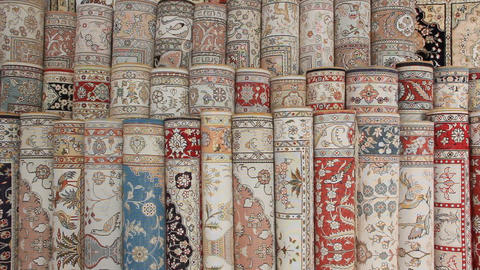 Turkish silk carpets Live Action