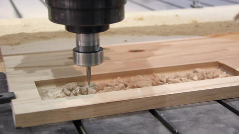Programmable woodworking machine-tool Live Action