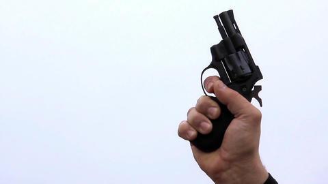 Starting pistol shot Footage