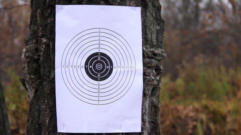 Shooting mark Footage