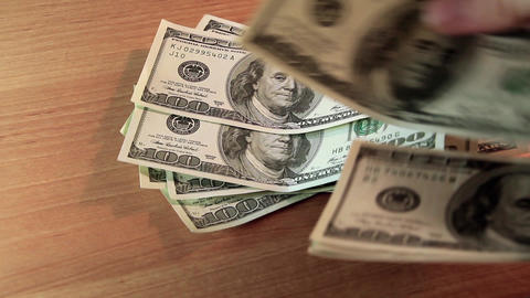 Money on deposit Footage