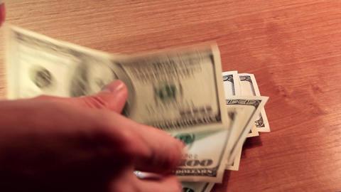 Money Transfer stock footage
