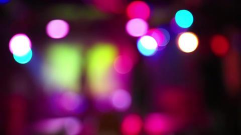 Illumination inside nightclub Footage
