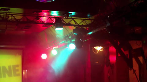 Illumination inside nightclub Live Action