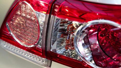 Stylish Headlight stock footage