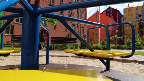 Childrens playground Footage